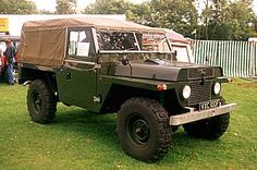 Land Rover Gun Tractor, early version of Lightweight