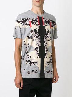 pixel print T-shirt