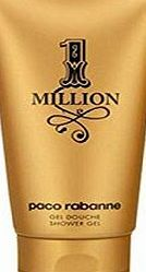 Paco Rabanne 1 Million Shower gel for Men - 150ml The expression of every mans fantasies. An object of desire as a gold ingot shape. An addictive fresh spicy leather fragrance. (Barcode EAN = 0721866378125). http://www.comparestoreprices.co.uk/december-2016-week-1/paco-rabanne-1-million-shower-gel-for-men--150ml.asp