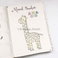 My bullet journal mood tracker for october
