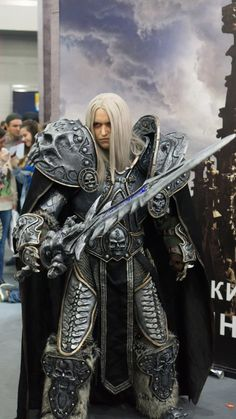 World of Warcraft - Arthas the Lich King cosplay by Aoki - Album on Imgur