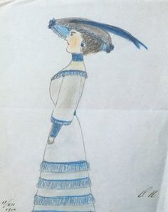 Grand Duchess Olga's drawing. Her mama?