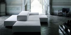 JR_modular sectional- see 3D models  Extra Wall | Sofas | Products | Living Divani