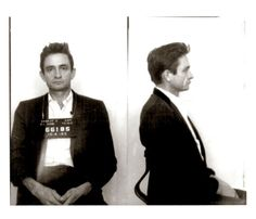 Throughout the late fifties and sixties, Cash's drug and alcohol dependance contributed to the ultimate demise of his first marriage. Despite the fact that Cash earned an outlaw image for his many run-ins with the law, he never spent more than one night in jail.