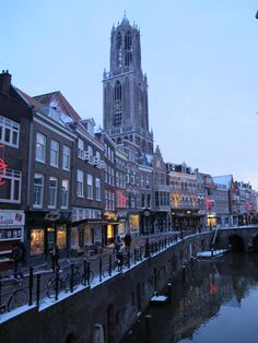 Utrecht, The Netherlands. Café's, bar's, restaurants and hotels