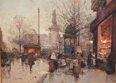 Eugene Galien Laloue (french, 1854-1941) : Lot 511
