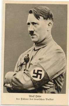 A few of Hitler's postcards 1931-1934