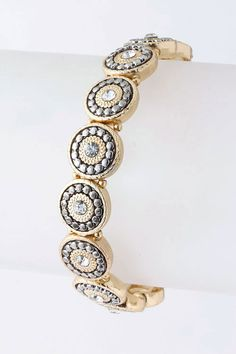 I don't like yellow gold, but there's something about this bracelet that I love#Repin By:Pinterest++ for iPad#