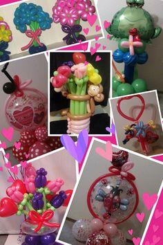 Valentines Balloon Bouquets