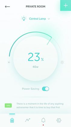 Power Saving Page
