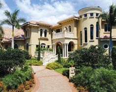 Someday I want a big house...