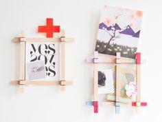 Paint Stick Portrait | Community Post: 20 Dorm Room Decor DIYs