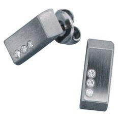 Damen-Stecker Edelstahl mattiert 6 Diamant 0.06 ct. Dreambase, http://www.amazon.de/dp/B00EYH10PE/ref=cm_sw_r_pi_dp_odjjtb0TV0BMF