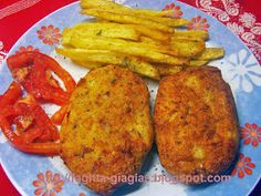 Μπιφτέκια κοτόπουλο ή γαλοπούλα - από «Τα φαγητά της γιαγιάς»