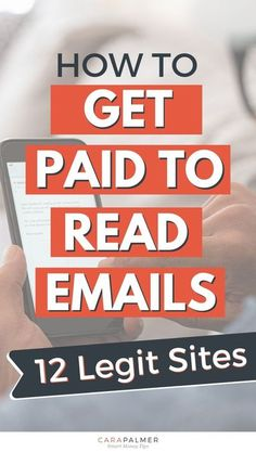 Did you know that you can get paid to read email? Here are 12 legitimate sites to make money from reading emails. Whether you're looking for a side hustle or just a way to work from home and make a little extra money, reading emails is a good way to start.