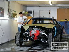 In this tech article CAR CRAFT shows you how to create a paint booth in your home garage by documenting how one guy creates show-winning paintjobs at home - Car Craft Magazine