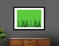 Discover «Green Cactus», Exclusive Edition Fine Art Print by Laura Turner - From $25 - Curioos