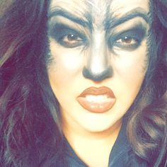 Makeup idea for the Wolf