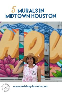 Houston murals. Houston Instagram walls. Instagrammable spots in Houston. Hou. Top things to do in Houston. Houston Murals, Houston Skyline, The Creation Of Adam, Instagram Wall, Dogwood Flowers, Things To Do, Graffiti, Outdoor Blanket, Texas
