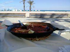 Paella on the beach