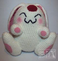Mokona Modoki - Patrón Amigurumi Gratis en Español http://amigurumimx.blogspot.mx/2012/10/patron-amigurumi-gratis-mokona-modoki.html