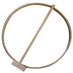 old fashioned Hoop 'n Stick toy
