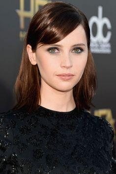 Felicity Jones   - HarpersBAZAAR.com