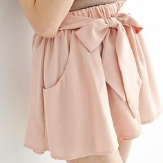 Buy 'BAIMOMO – Bow-Front Culottes' with Free International Shipping at YesStyle.com. Browse and shop for thousands of Asian fashion items from Taiwan and more!