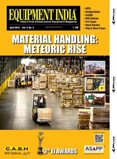 Equipmentindiaapril2016  Cover story: Material Handling Solutions: Warehousing and inter modal logistics are paving the way forward for Material Hand	ling Equipment in India. Views: Gandhi Automations, Godrej MHE, Jungheinrich Lift Truck India, Kelley MHE India, KION India, Kompress India, Seashell Logistics   Feature: Container Handling Equipment: Container traffic in India has outpaced the global growth rates and is expected to grow 3-4 times in near future, which highlights unprecedented…