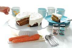 Te damos la receta de la mejor carrot cake del mundo, una tarta de zanahoria deliciosa, suave, con esos matices que le dan el jengibre, la canela, pasas... Cake Thermomix, Thermomix Desserts, No Cook Desserts, Baking Recipes, Cake Recipes, Dessert Recipes, Food Test, Cooking Chef, Baking And Pastry
