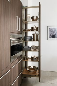 Wood-Mode Kitchen Organization