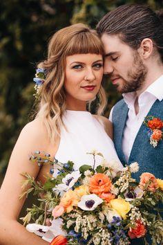 Modern Hipster Wedding inspiration in Nashville// Photography: http://www.ckdirksphoto.com