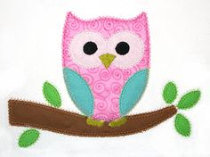 Applique Chick Owl - don't have this
