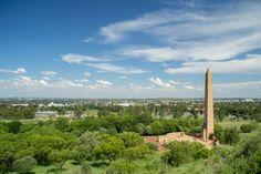 Vrouemonument, Bloemfontein.  Photograph by Marcel Neuhoff