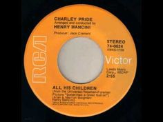 Charley Pride ~ All His Children Charley Pride, Henry Mancini, Artists For Kids, Music Publishing, Music Songs, Southern, Country, Children, Videos
