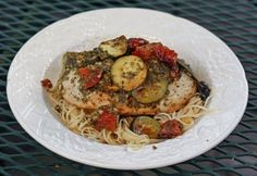 Food and Garden Dailies: Pesto Chicken Grill Packets