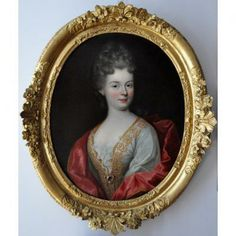 Portrait de la duchesse de Fontanges attribué à Pierre Gobert