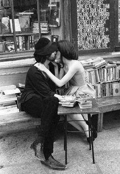 Books + love + Paris