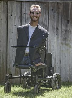 Nick Vujicic ~ (He taught me that there are no limits and anything is possible. May God bless him)