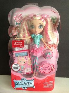 LA DEE DA Sweet Party Doll CYANNE as Peppermint Pose Spin Master LTD