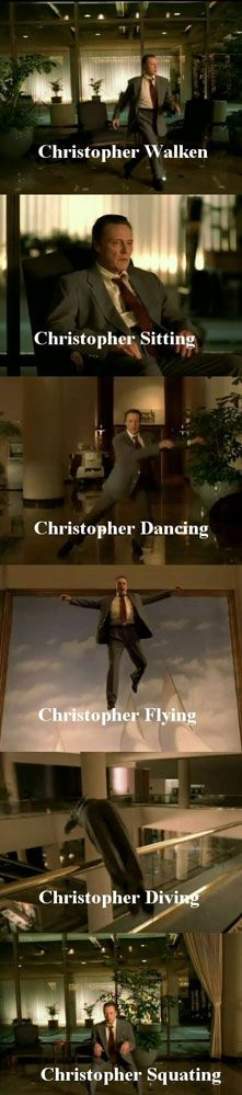 Oh Christopher, your name makes such great puns