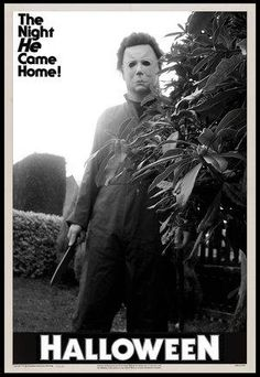 halloween.  One of the first horror movies I ever saw.  Scared the bejeezus out of me.!