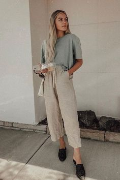 Outfit Designer, Gossip Girl Chuck, Summer Work Outfits, Summer Outfits Women, Summer Dresses, Hipster Fashion Style, Classy Fashion, Blusas Oversized, Cute Lounge Outfits