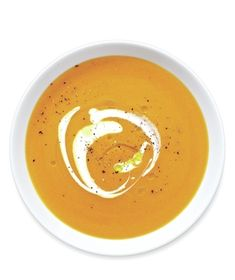 Finish this superb meal-in-a-bowl with a drizzle of olive oil, a dollop of tangy yogurt, and a sprinkle of cracked black pepper. Get the recipe for Spiced Carrot Soup.