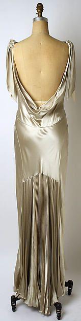 1930's influenced Vera Wang evening dress, 2002