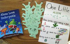 Aliens Love Underpants (Rhyming) kids love this book!