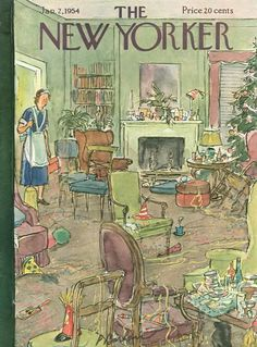The New Yorker Digital Edition : Jan 02, 1954  ~  Oh, dear! The morning after the night before!
