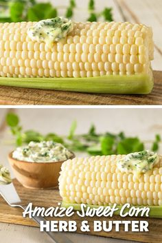 A delicious corn recipe with Amaize Corn Herb Butter! Throw on the grill with other vegetables for a great vegetarian meal or combine with burgers, steaks or a great piece of seafood. #FoodLion
