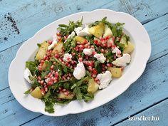 Körtés gránátalmás saláta