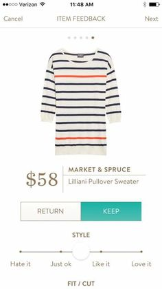 Market and spruce Lilliani pullover sweater- simple but I love the colors